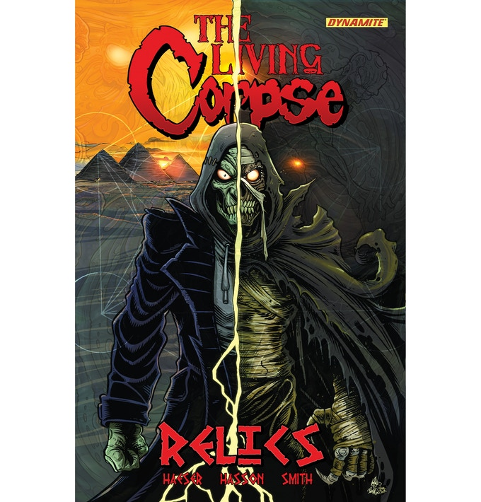 Living Corpse Relics trade cover