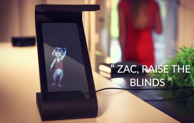 Zac can control all your connected devices and all you need is your voice!