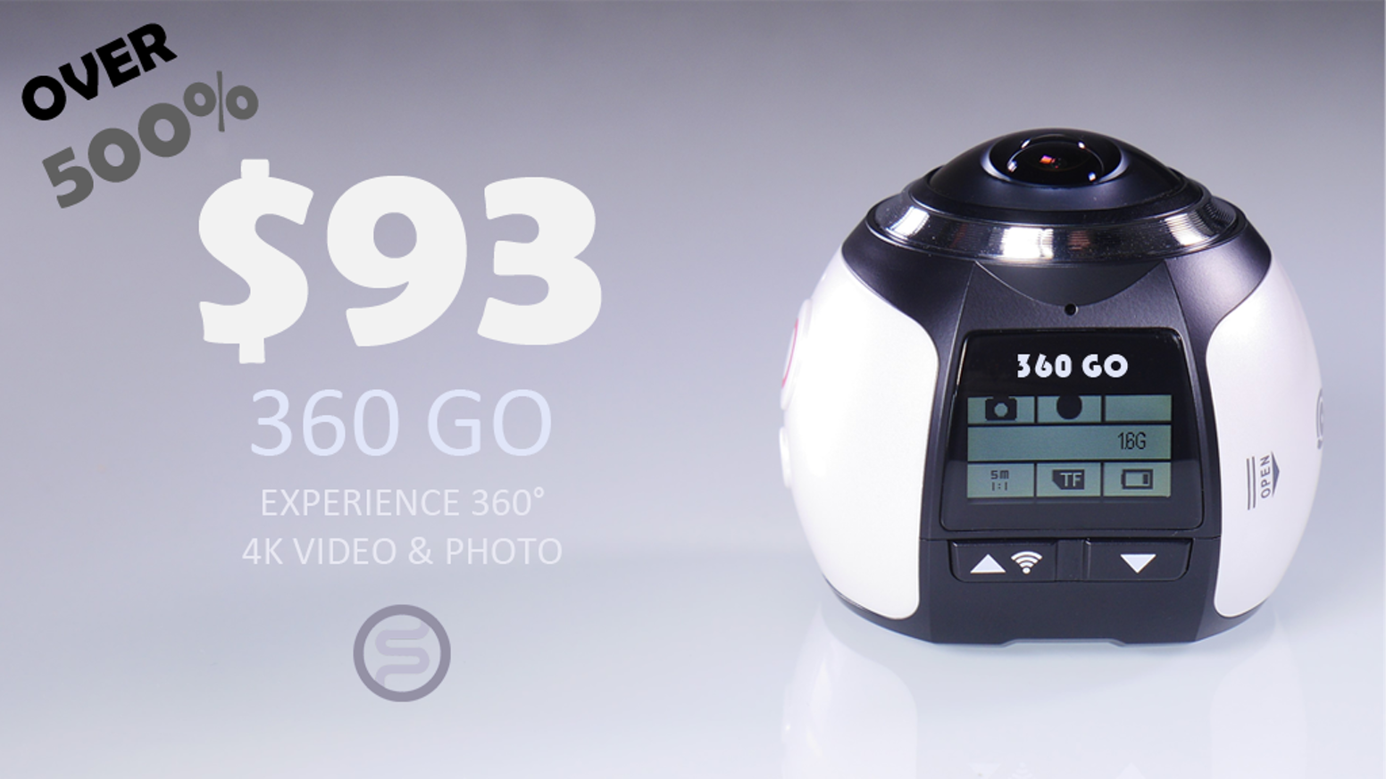 Experience 360˚ Video & Photo. Affordable Price with Good Quality. Full set of accessory. HDMI/ Micro USB/ Wifi.