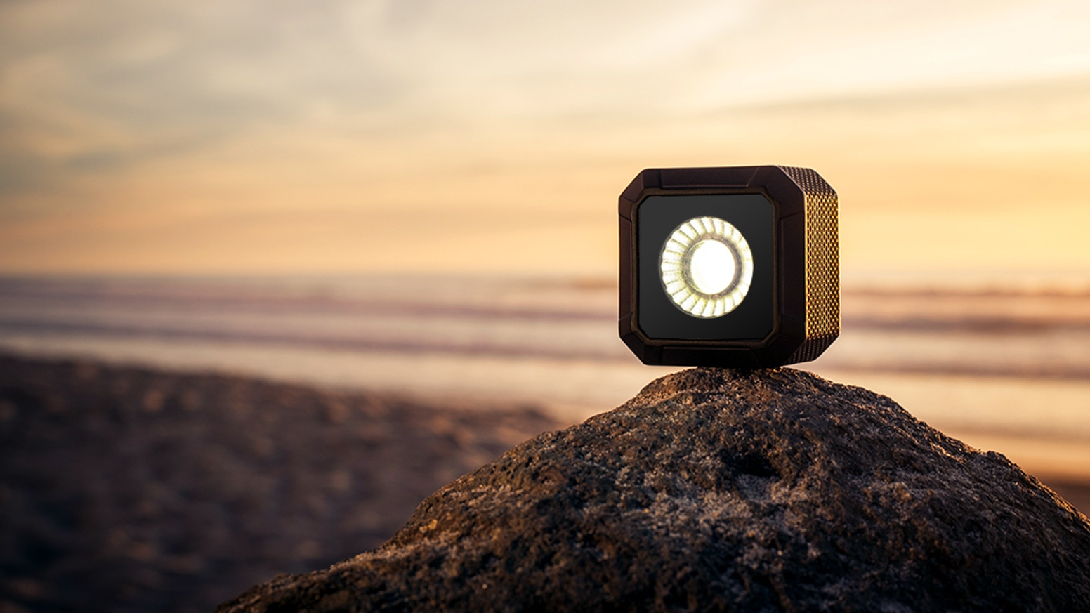 Smart, Bluetooth Controlled, Pocket-Sized Lifestyle Light for iPhone, Android, DSLR, GoPro or the best camera, the one you have on you.