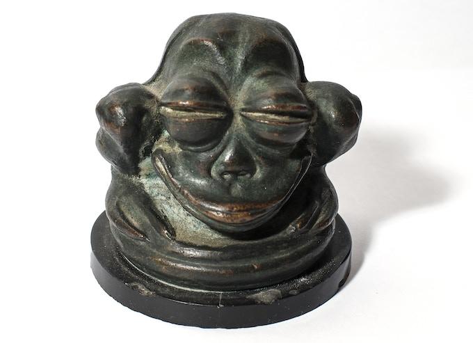 Original sculpture by Herbert Crowley