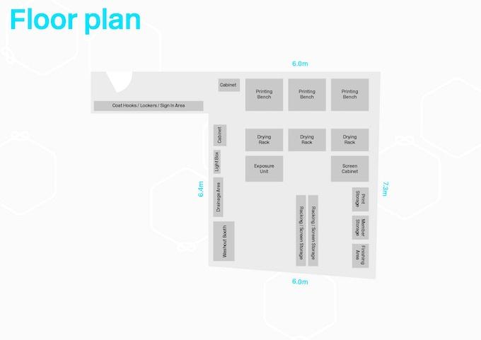 New Workshop Floor Plan