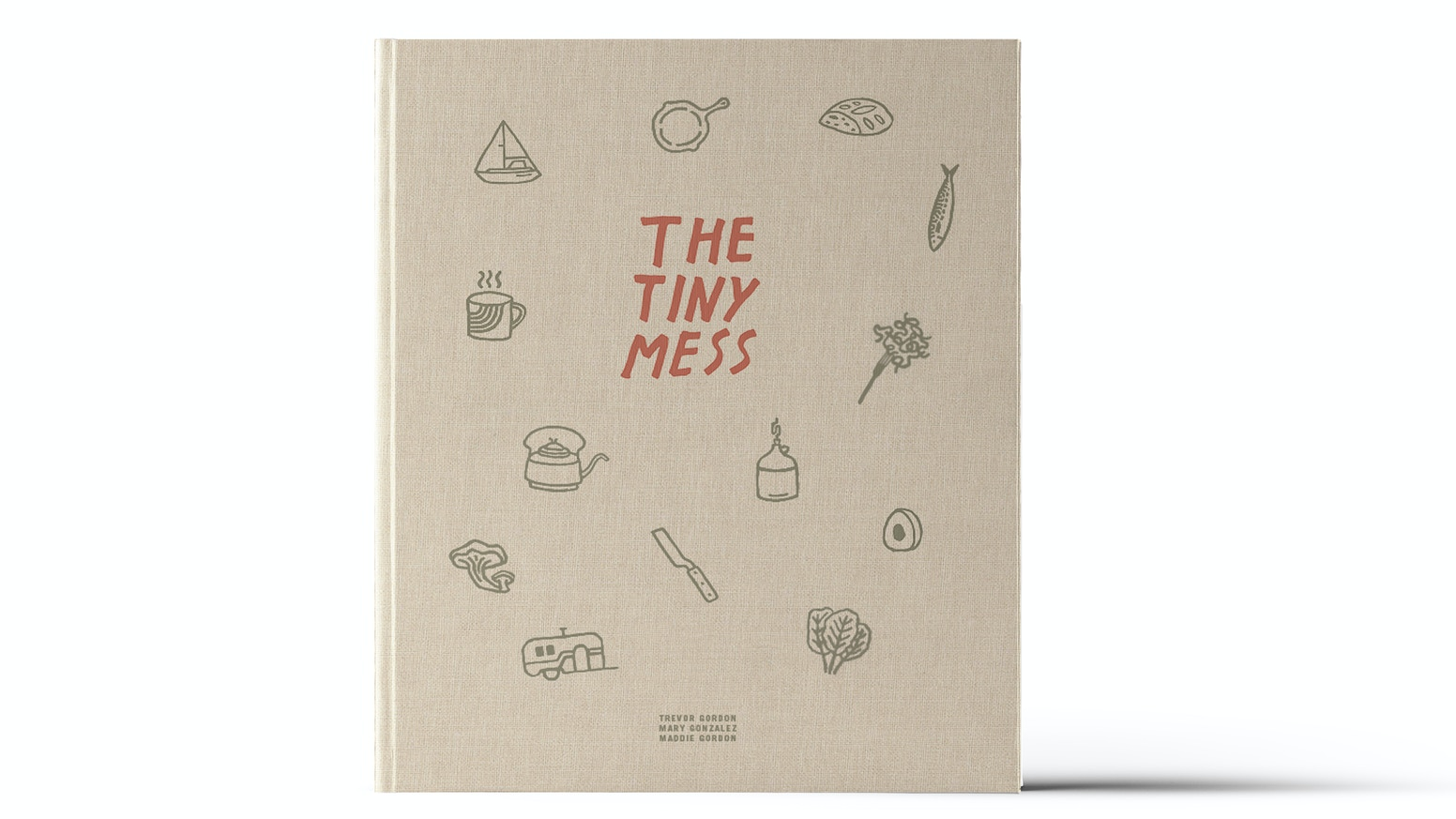 A book of recipes and photos about small homes, their even smaller kitchens, and the people who cook in them.