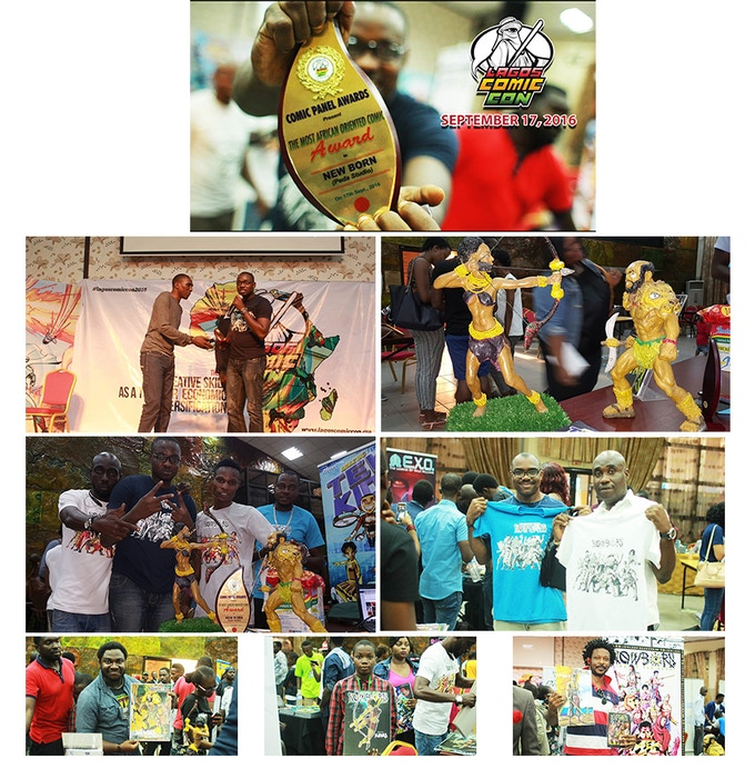 MOST AFRICAN ORIENTED COMIC -  LAGOS COMIC CON 2016