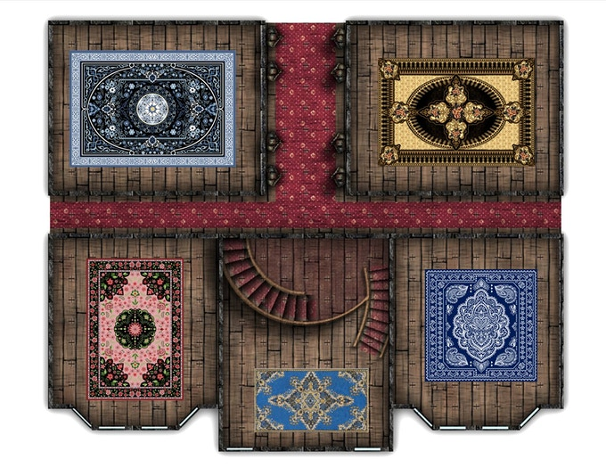 Floorplans Come With Carpets To Decorate Rooms