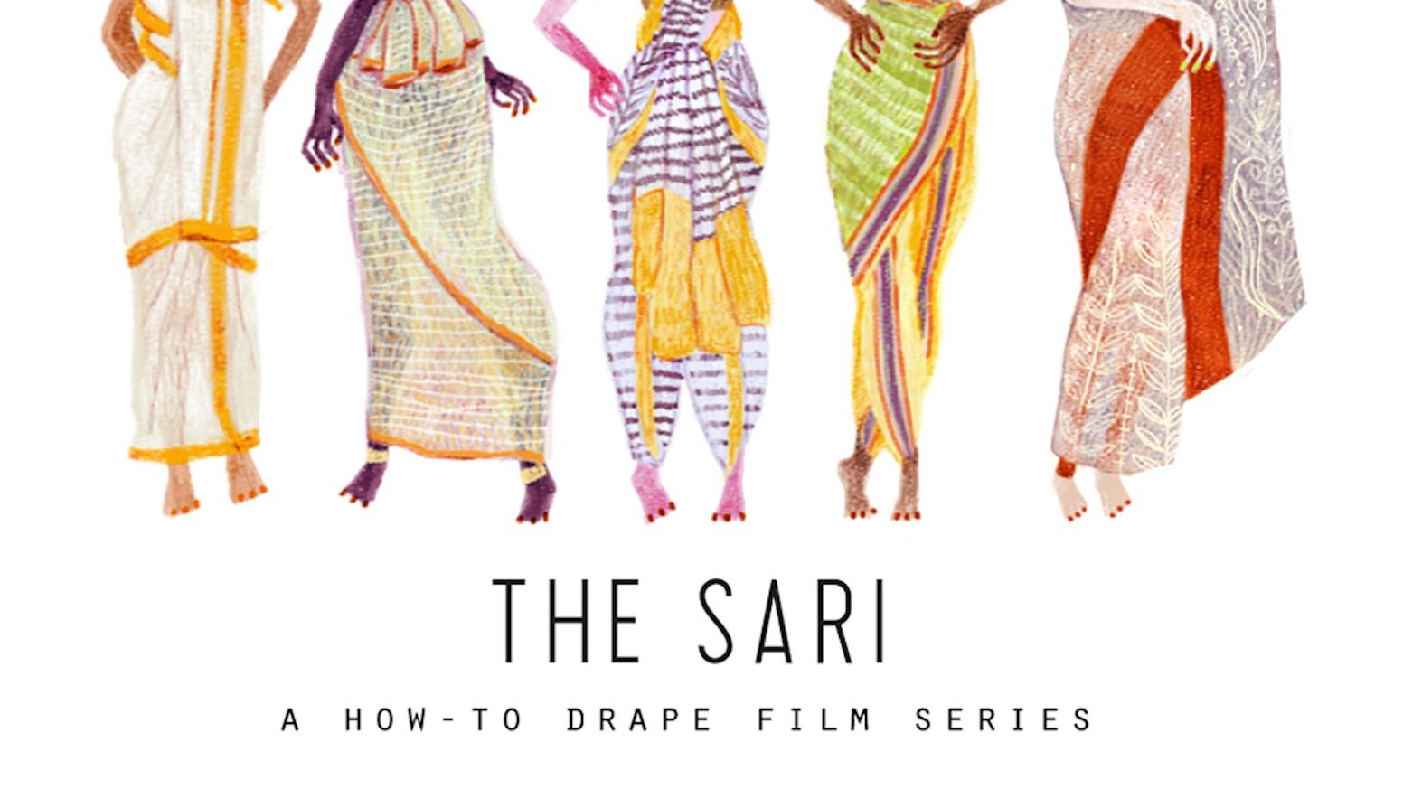 The Sari  A How-To Drape Film Series by Border Fall — Kickstarter bc1c29fb9