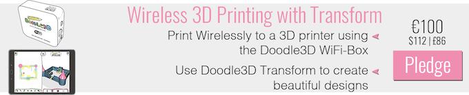Doodle3D Transform: 3D design made easy by Doodle3D — Kickstarter