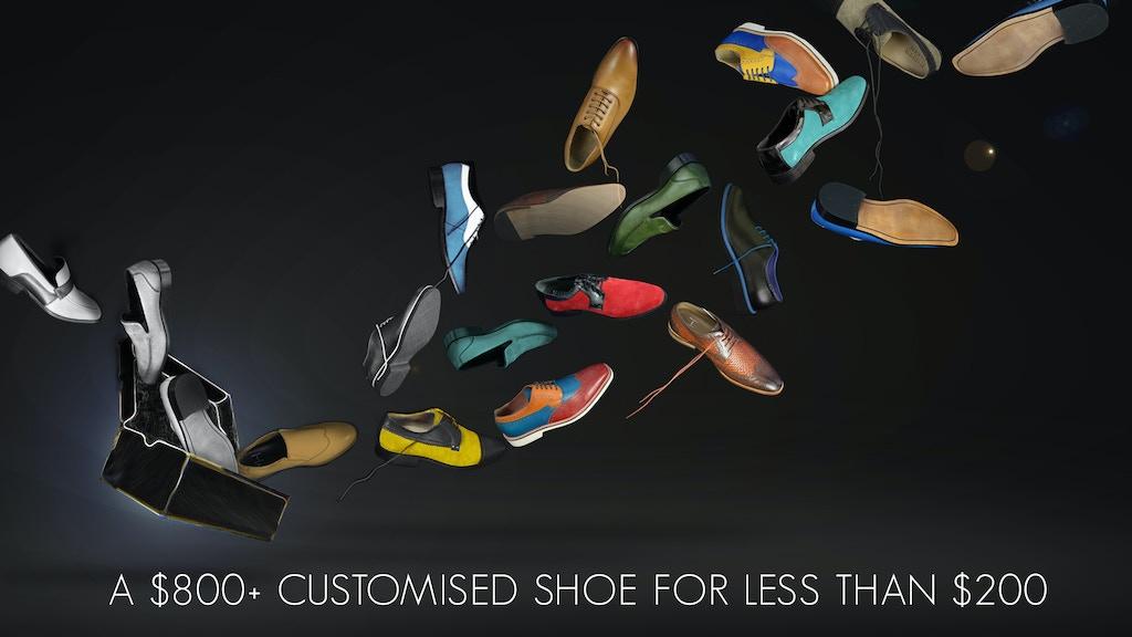 Harperwoods: Define Your Kick. Custom Design Your Shoes. project video thumbnail