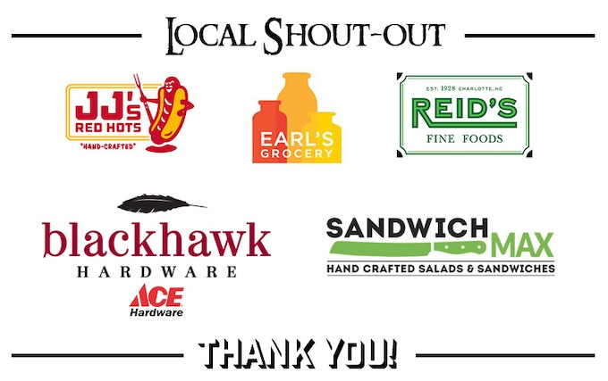 We love the support from our home town establishments who proudly carry Ogre Sauce.  Thank you Charlotte, NC!