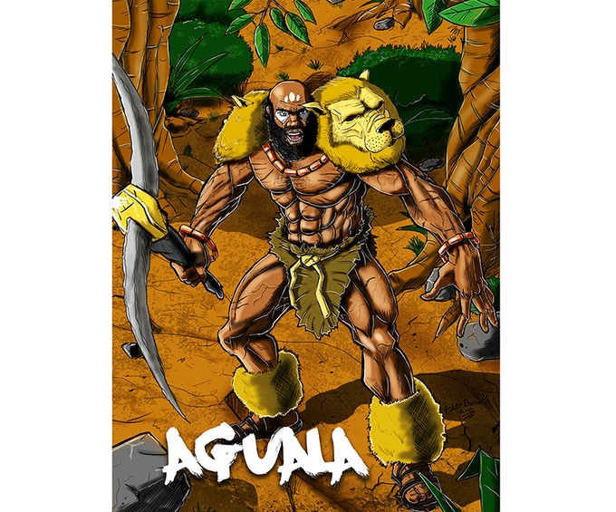 THE MIGHTY AGUALA