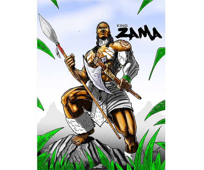 HIS ROYAL HIGHNESS KING ZAMA THE 1ST