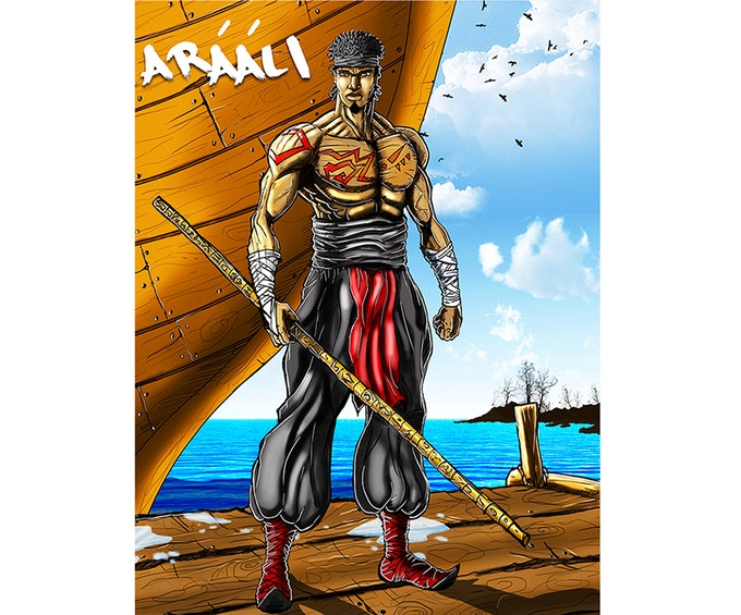 ARAALI THE MONK