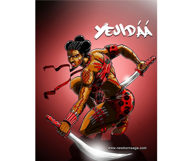"""YEJIDAA """"like her mother"""""""