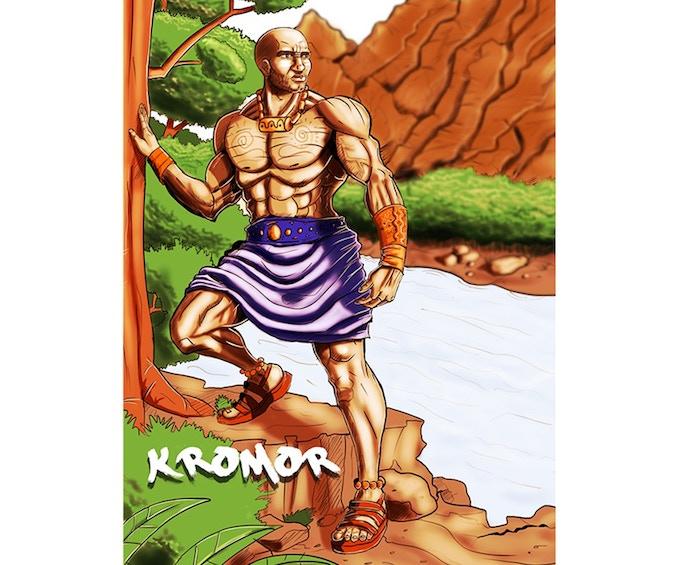 KROMOR THE FISHER MAN
