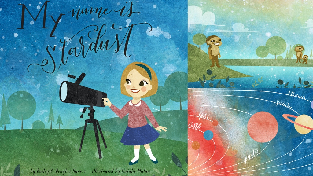 My Name Is Stardust: Children's Book About Science project video thumbnail