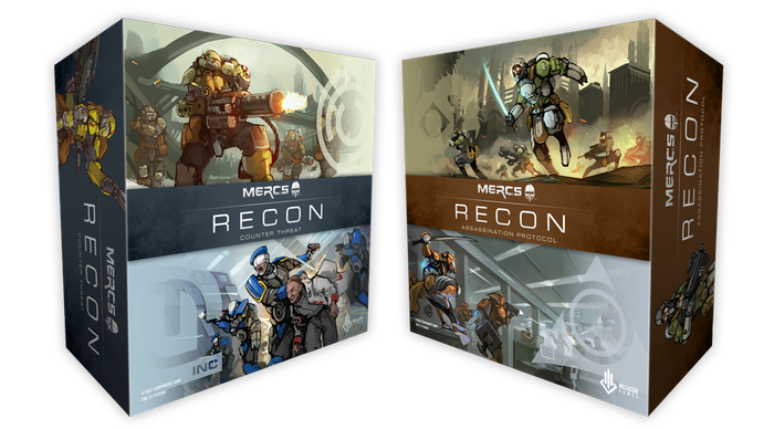 MERCS: Recon is a fully cooperative, stand-alone game set in the exciting MERCS world.