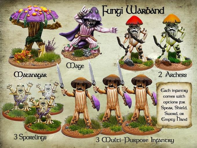 Fungi Warband
