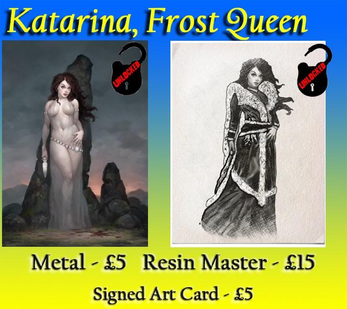 Pin Up Katarina, on the left, has already been unlocked!
