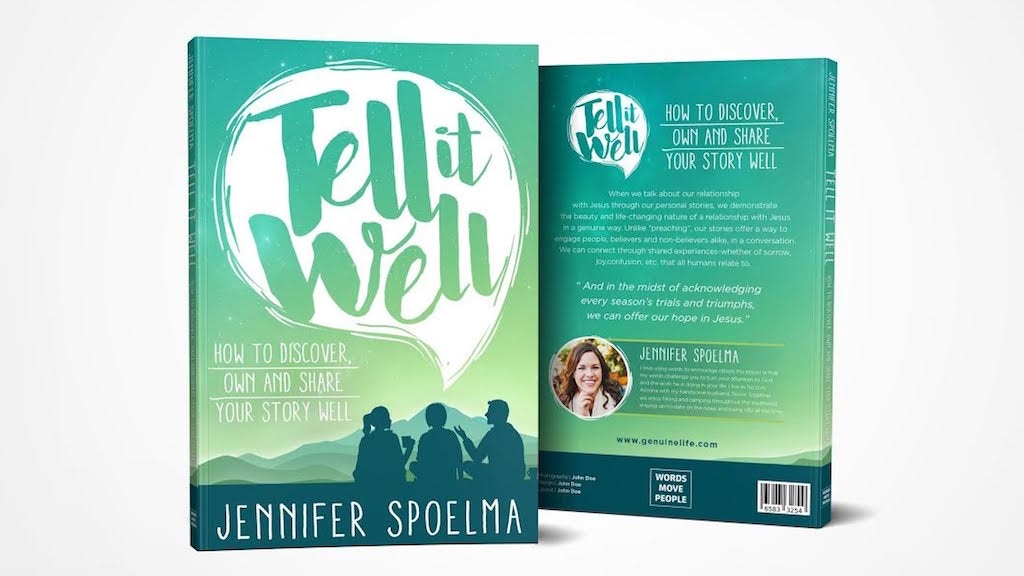 Tell it Well Book - Discover, Own and Share Your Story Well project video thumbnail