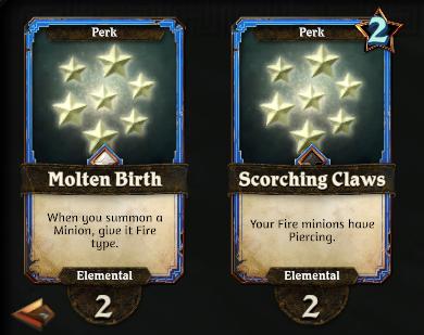 Elemental Perks