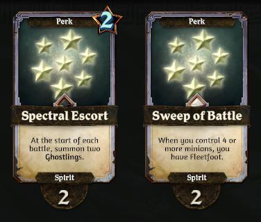 Spirit Perks