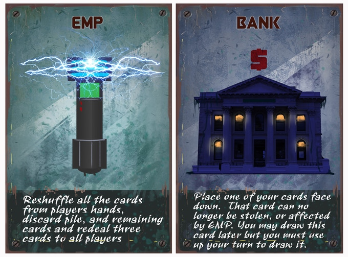 At $25,000, the EMP and Bank cards are added!