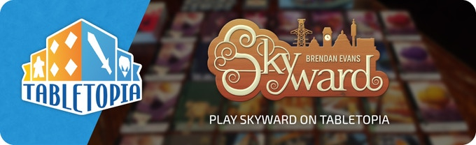 Skyward is also available to play now on Tabletopia