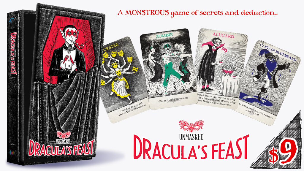 Dracula's Feast: A monstrous game of secrets and deduction project video thumbnail