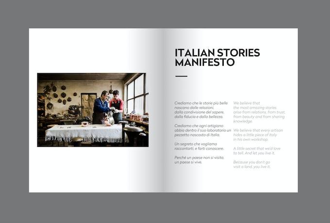 The Italian Stories manifesto // Il manifesto di Italian Stories