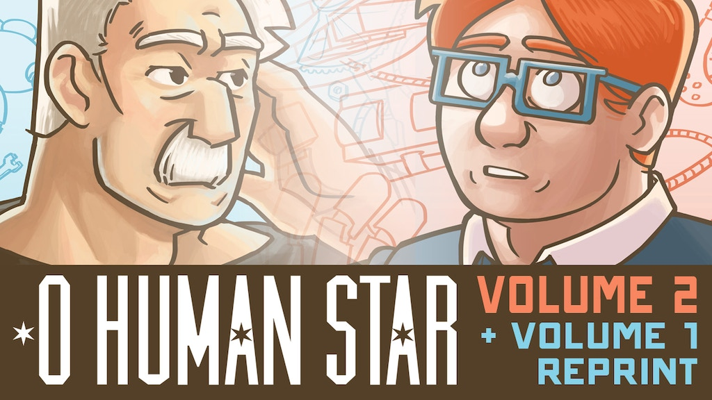 O Human Star Volume 2 + Volume 1 Reprint project video thumbnail