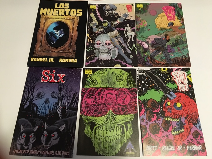 GRAB SOME OLDER COMICS YOU MAY HAVE MISSED!