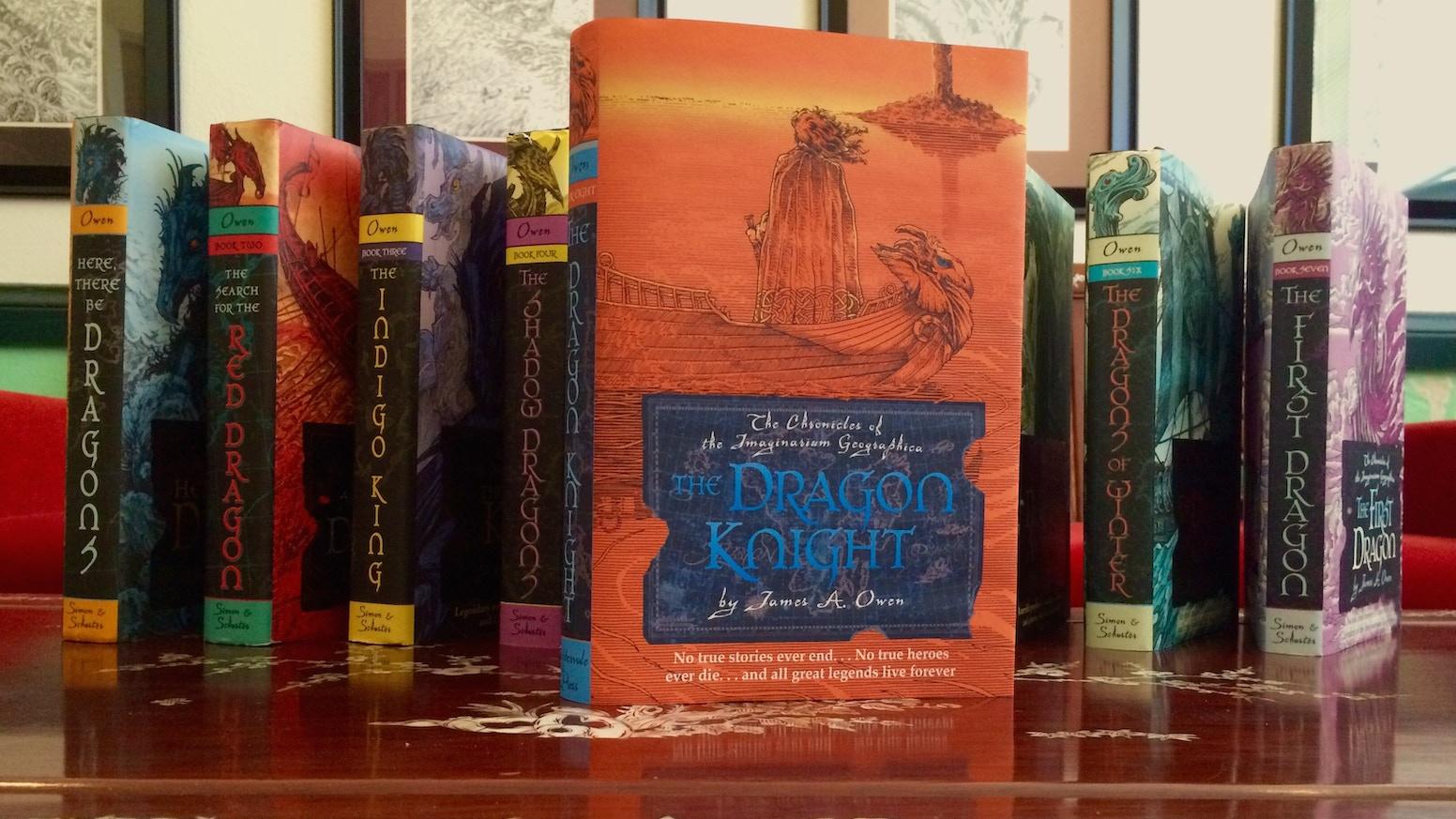 The Dragon Knight 8th Imaginarium Geographica Book