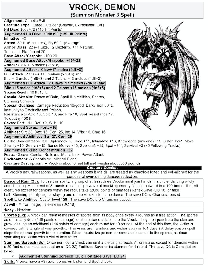 3.5 Edition Creature Page (1 of 277)