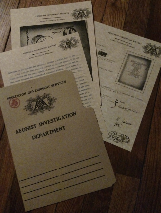 Pinkerton File