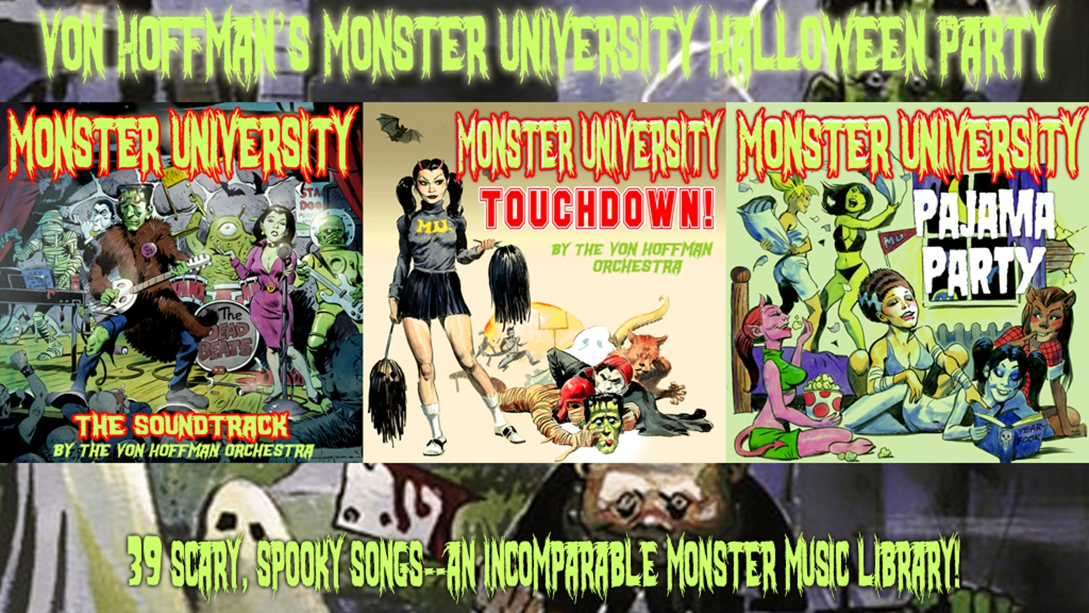 Monster University Halloween Party by Mike Hoffman — Kickstarter