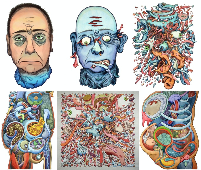 1. Anatomical - portraits and what goes on inside the human body