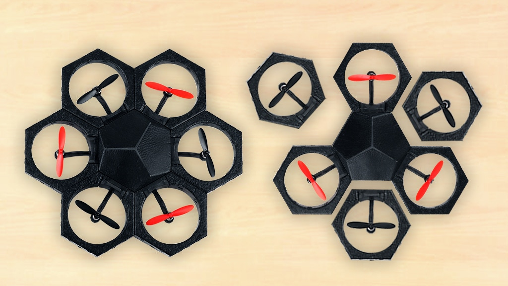 Airblock: The Modular and Programmable Starter Drone miniatura de video del proyecto