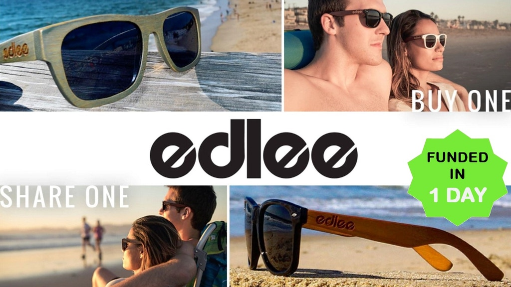 edlee Sunglasses Shared Experiences | Buy One, Share One project video thumbnail