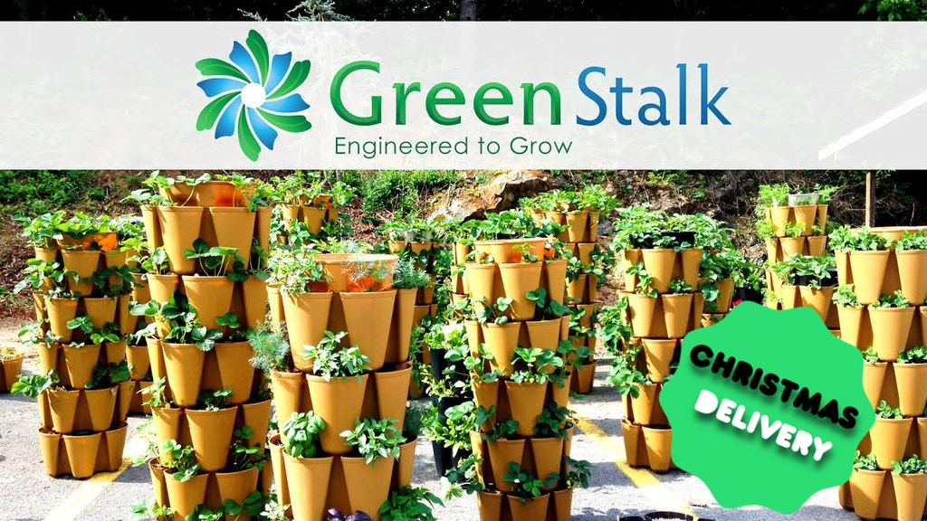 GreenStalk - Vertical Garden System project video thumbnail