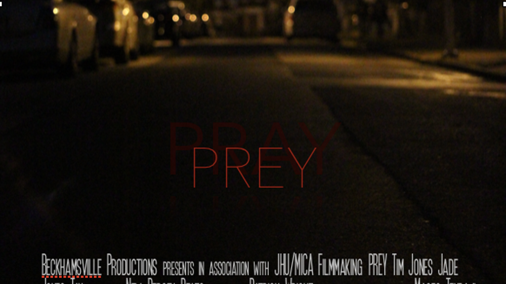 PREY - A Short Film project video thumbnail