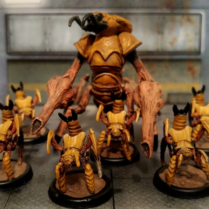 Prime Hive Overseer and Ground Swarm