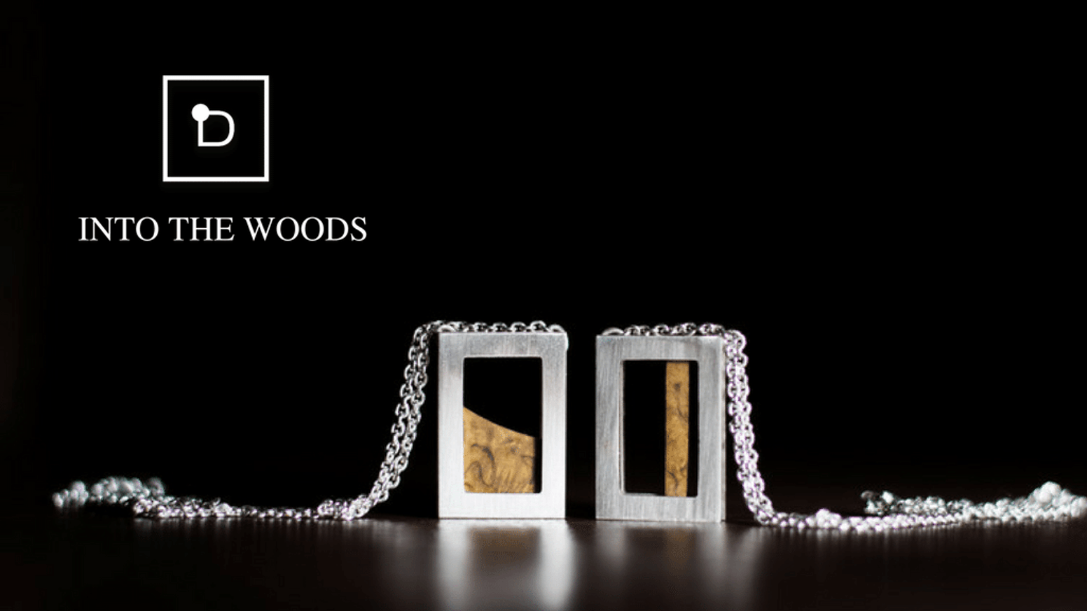 Into The Woods Norwegian Jewelry With Wood And Silver By Camilla