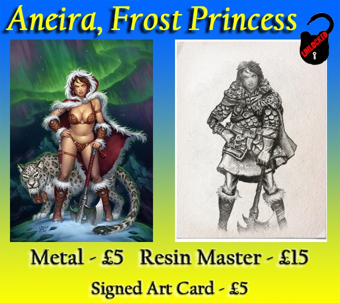 Pin Up Aneira, on the left, has already been unlocked!