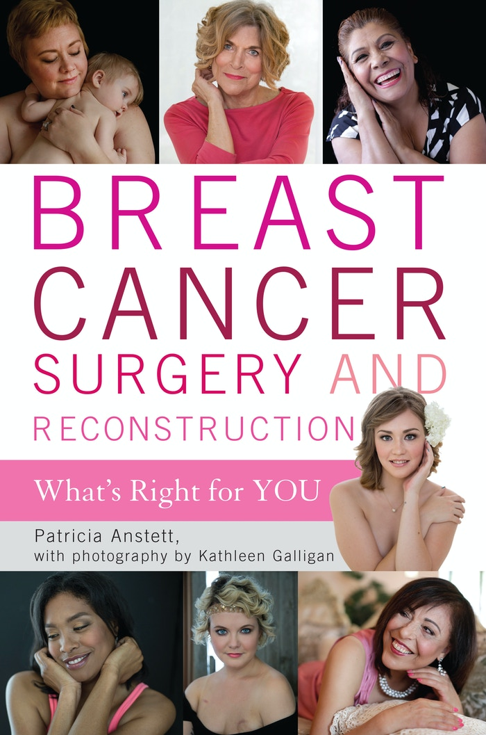 This is a powerful book about breast cancer surgery and reconstruction, told poignantly by women through words and photos.