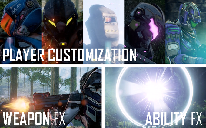Visit the TrekStore and acquire Hats, Helmets, Armors, Skins, FX and more!