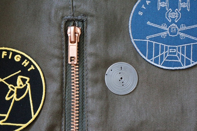 turn it into a push-pin badge