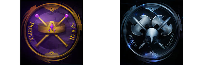 Legion & Reign Emblems