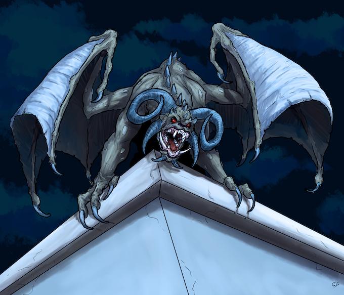 Art for Monsters by Gennifer Bone