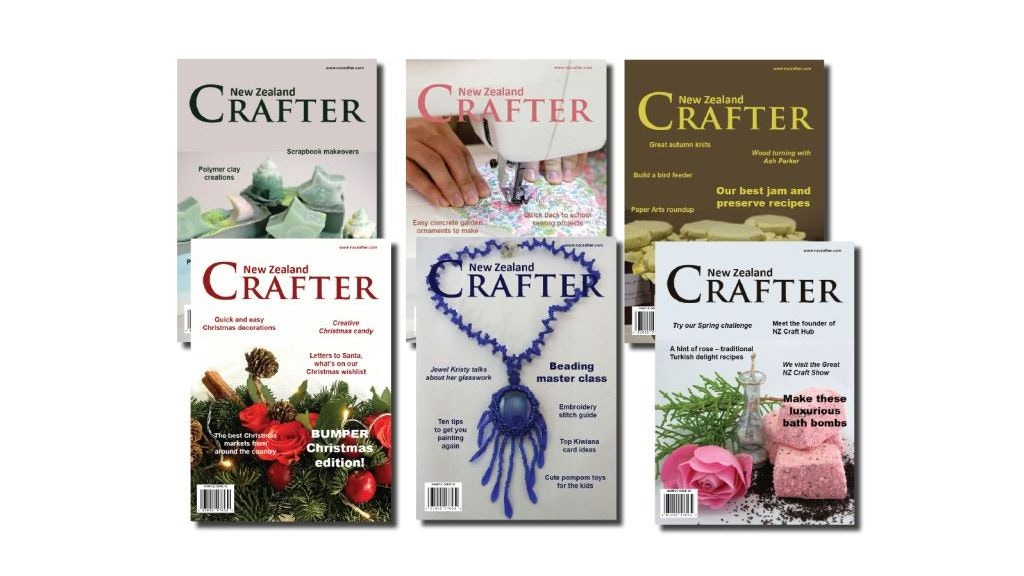 Project image for New Zealand Crafter magazine
