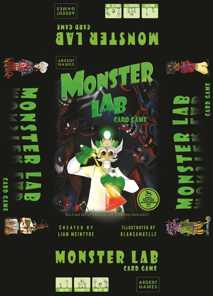Monster Lab by Liam McIntyre » Update 25 - Printing Update and other